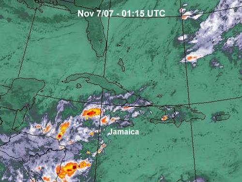 California Weather Map Satellite.Jamaica Weather The Jco Jamaican Weather Forecast