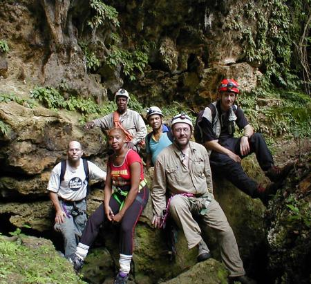 The Jamaican Caves Crew