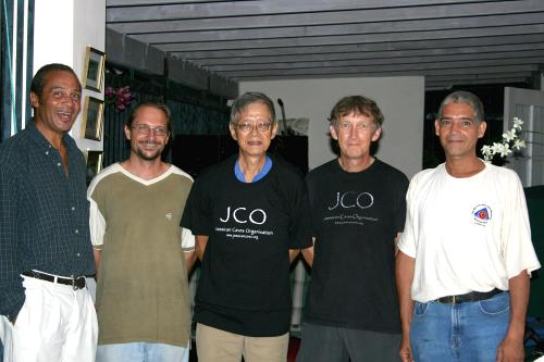 Left to right - Conolley, Haiduk, Lee, Stewart, Pauel - July 31, 2008 - Click for full-res