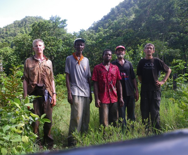 The Home Away sampling team, after the fieldwork - Sept 10/12