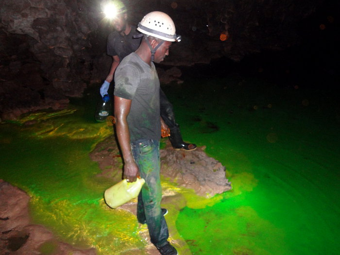 Water Resources Authority at Rota Cave, St James