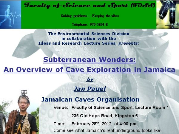 Jan Pauel at UTech, Feb 28/13